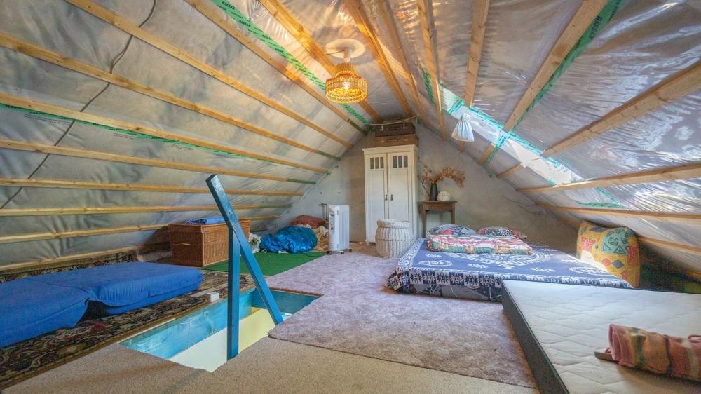 Einliegerwohnung Dachboden